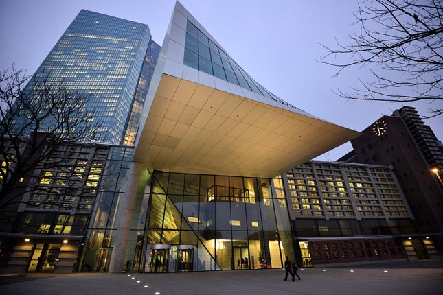 La banca europea pide 15.611 millones a tipos negativos al BCE